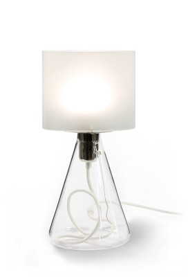 Lampe 03 - White textile cord
