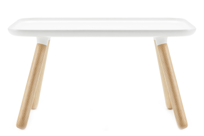 Tablo Rectangular Coffee Table White