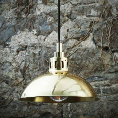 Talise Pendant Light  Polished Brass