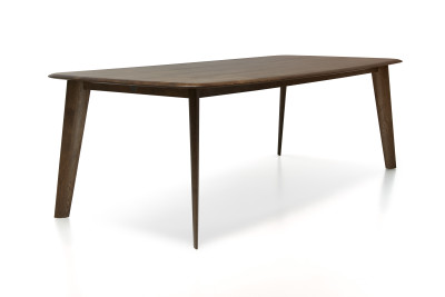 Tapered Dining Table Moooi Black Stained, 250cm Width
