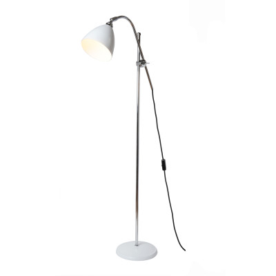Task Floor Lamp White