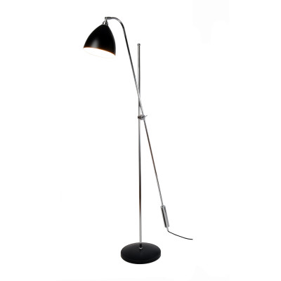 Task Overreach Floor Lamp Black