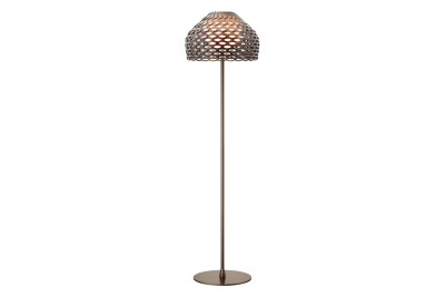 Tatou F Floor Lamp Ochre-grey