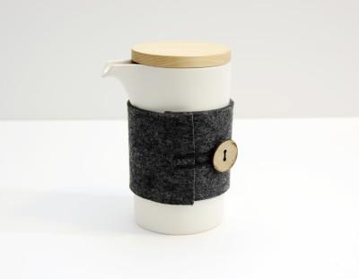 Teapod Mug Matt White