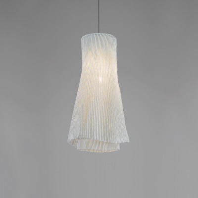 Tempo Andante Pendant lamp Ochre, Transparent Cable, Yes