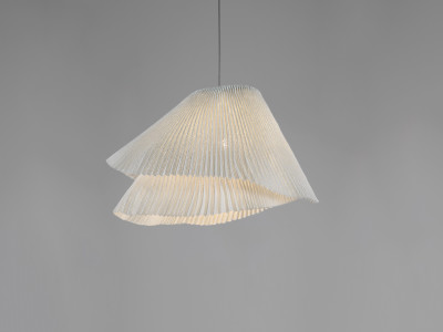Tempo Vivace Pendant lamp Ochre, Transparent Cable, Yes