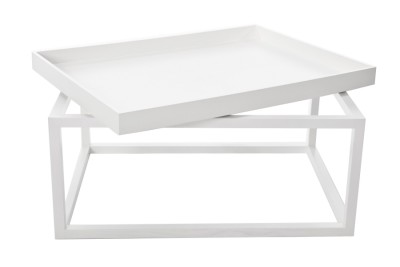 Tip Coffee Table White