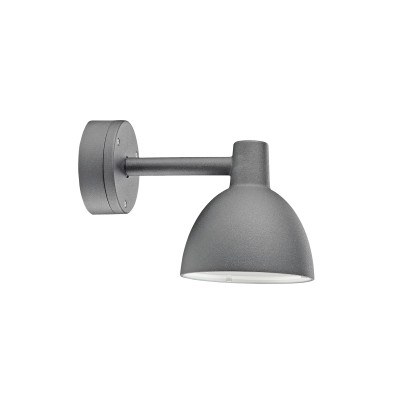 Toldbod 155 Outdoor Wall Light Aluminium Coloured