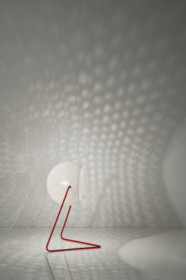 Trama T1 Floor Lamp White
