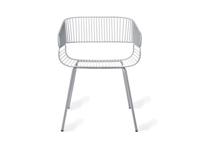 Trame Outdoor Dining Chair Gris