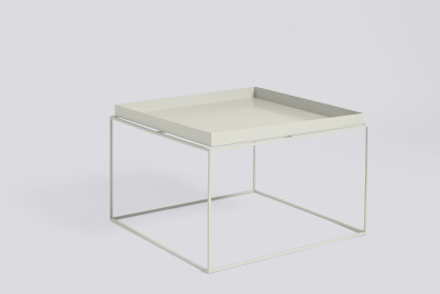 Tray Square Coffee Table Warm Grey