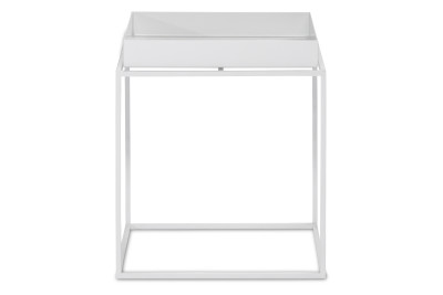 Tray Square Side Table White, Small