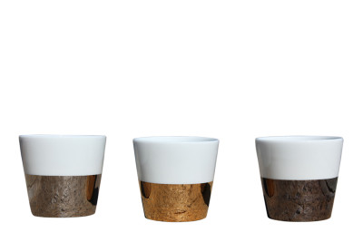 Tresor Set of 3 Cups