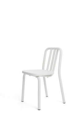 Tube Dining Chair White