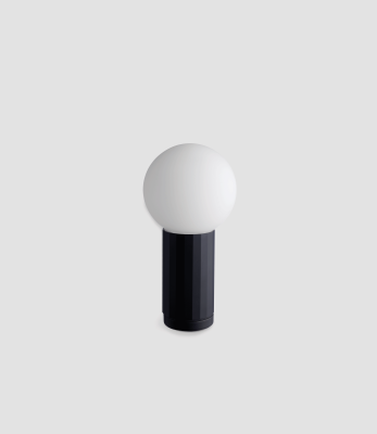 Turn On Table Lamp Black