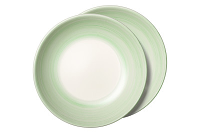 Turnì Soup Plates Green