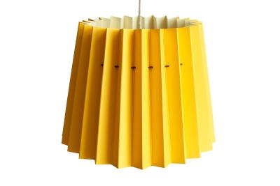 Twin Tone Lampshade Warm Yellow & China White