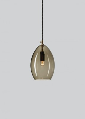 Unika Pendant Light Grey, Large