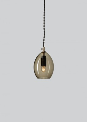Unika Pendant Light Grey, Small