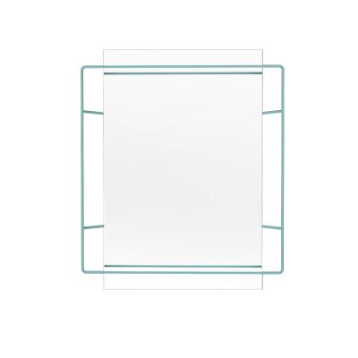 Untitled Rectangular Mirror Green