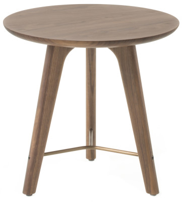 Utility Side Table Walnut