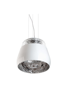 Valentine Pendant Light White