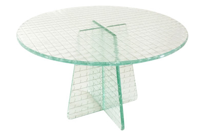 Vanità Cake Stand Wired Glass, High