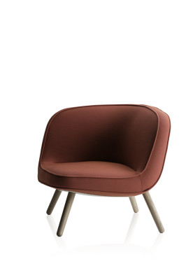 Via57 Lounge Chair - Fritz Hansen Selection Steelcut Trio 2 553