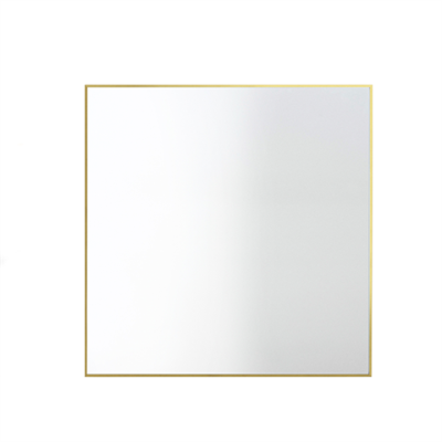 View Mirror - Set of 2 70 x 70cm, Brass