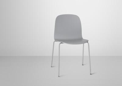 Visu Chair Tube Base Grey/Grey