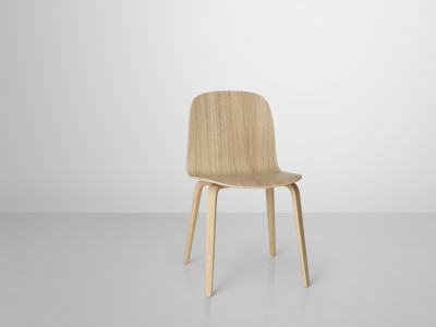 Visu Chair Wood Base Oak