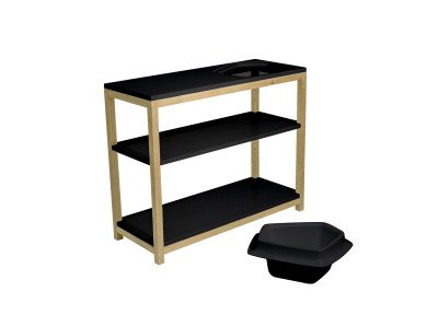 Volcane Console Table