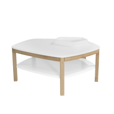 Volcane Pieds Coffee Table White