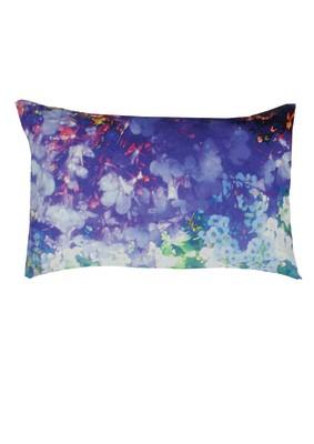 Washed Lily & Violet Rectangular Cushion
