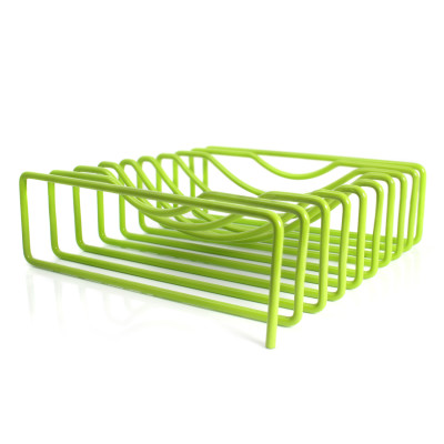 Wire Fruit Bowl Green