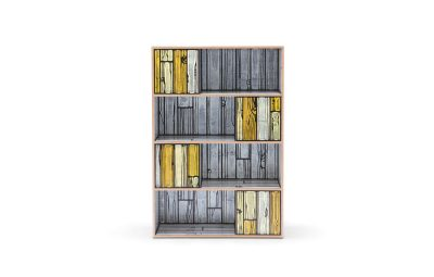 Wrongwoods Room Divider White with Yellow