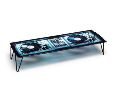 Xradio 2 Disc Coffee Table