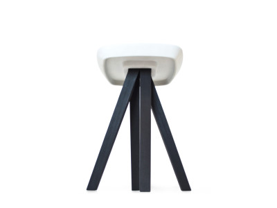 Ydin Stool Burnt Ash