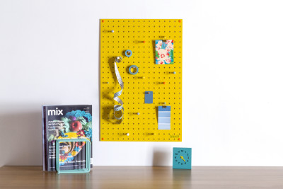 Yellow Pegboard Medium
