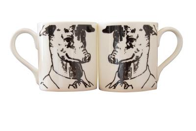 Yen Prussian Head Mug