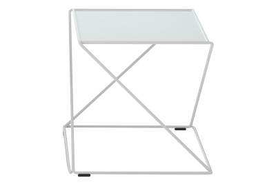 Z Stackable Side Table White