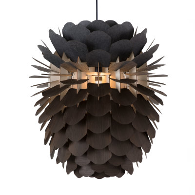 Zappy Pendant Light Smoked Oak
