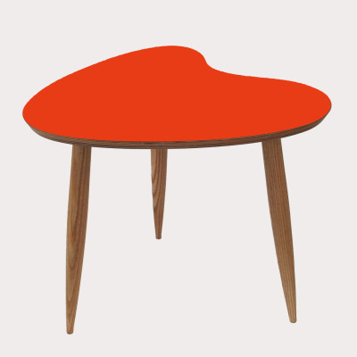 Petal Side Table Orange