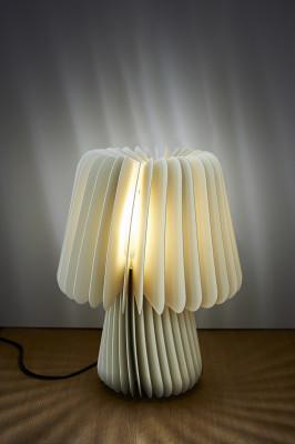 Beam Table Lamp - Pale Grey