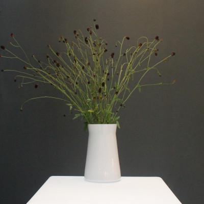 Waisted Vase Opal White