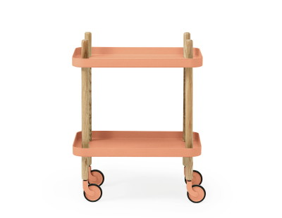 Block Side Table Coral