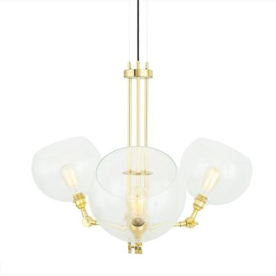Oia Chandelier Satin Brass