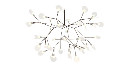 Heracleum II Small Pendant Light Nickel, 4 m Cable Lenght