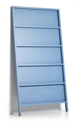 Oblique Book Shelf RAL 5024, Small