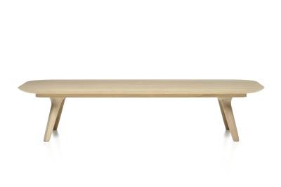 Zio Coffee Table - Rectangular White Wash